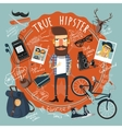 Hipster concept seal icon vector image vector image