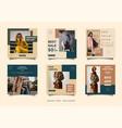 minimalist social media post design template
