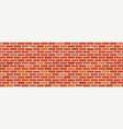 seamless brick wall texture vector image vector image