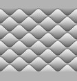 soft seamless pattern with waves in white eps 10 vector image vector image