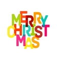 Merry Christmas Card - EPS10 vector image