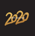 2020 new year cart 2020 new year vector image vector image