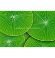 abstract green leaf art pattern vector image vector image