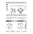al 0940 dividers vector image vector image