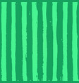 green striped watermelon texture with hand drawn vector image vector image