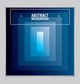 minimalistic brochure design geometric abstract vector image vector image