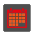 Month Rounded Square Button vector image