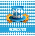 Oktoberfest German beer festival celebration vector image vector image