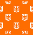 coat of arms of germany pattern seamless vector image vector image