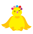 Cute Chick 3 vector image vector image