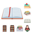 design of and library symbol collection vector image