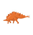 dinosaur cartoon cute funny monster cartoon vector image