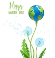 Eco natural concept vector image