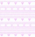 geometric abstract retro image design pattern vector image