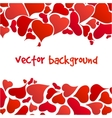 happy valentines background vector image vector image