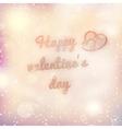 Happy valentines day EPS 10 vector image
