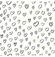 heart shaped pattern vector image