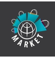 logo purchases of goods all over the world vector image vector image