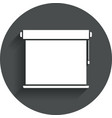 Louvers rolls sign icon Window blinds jalousie vector image vector image