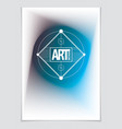 minimal cover design geometric abstract vector image