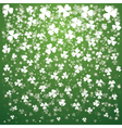 patrick day transparent lights vector image vector image