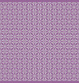 tile pattern with violet print on white background vector image vector image