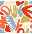 vivid modern abstract seamless pattern vector image vector image