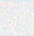 abstract background pastel color circles mosaic vector image