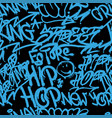 graffiti vandal pattern vector image