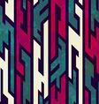 grunge tribal geometric seamless pattern vector image vector image