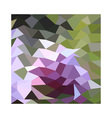 Pale Lavender Abstract Low Polygon Background vector image vector image