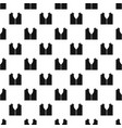 pattern for sewing pattern vector image vector image