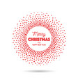red sparkling ring with dust glitter graphic on vector image vector image