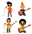Rockstars set vector | Price: 1 Credit (USD $1)