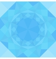 Blue Grid Mosaic Background vector image vector image