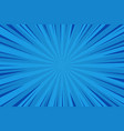 comic abstract blue background vector image