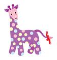 Cute Giraffe vector image vector image