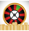 Jackpot design vector image vector image