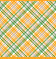 light seamless pattern check plaid vector image