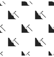Pickaxe icon in black style isolated on white vector image