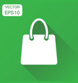 shopping bag icon business concept shop sale bag vector image