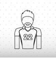 sport concept icon design vector image vector image