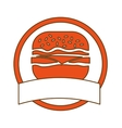 fast food icon image design vector image