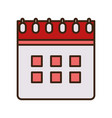 calendar reminder date plan icon vector image