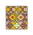 Ethnic ukrainian patterns vector image