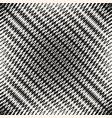 halftone mesh seamless pattern rhombic grid net vector image vector image