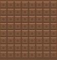 milk brown chocolade bar seamless pattern sweet vector image vector image