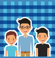 people characters male happy vector image vector image