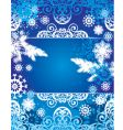 snowflake banners vector image vector image