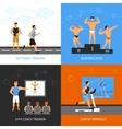 Trainer Design Concept Set vector image vector image